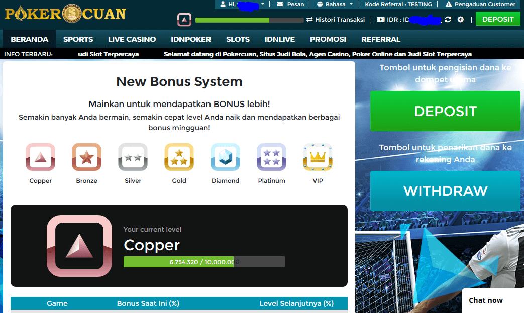 Cara Deposit di Situs Pokercuan