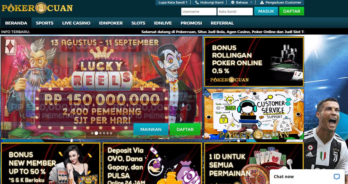 permainan judi di situs Pokercuan