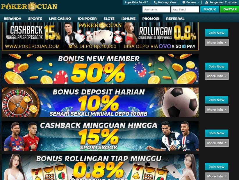 Pokercuan Situs Poker Dengan Fasilitas Terbaik